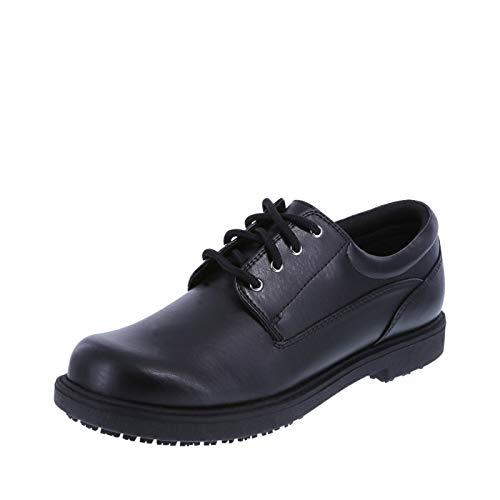 safeTstep Slip Resistant Women's Black Women's Deidre Oxford 7.5 Wide