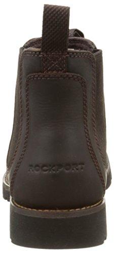 Tenor Brown Negro Rockport Hombre Botas Rockport 6IS88nXw