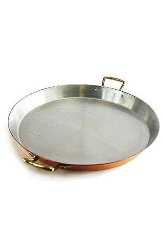 Paellera de cobre y acero inoxidable de 35 cm de la marca ...