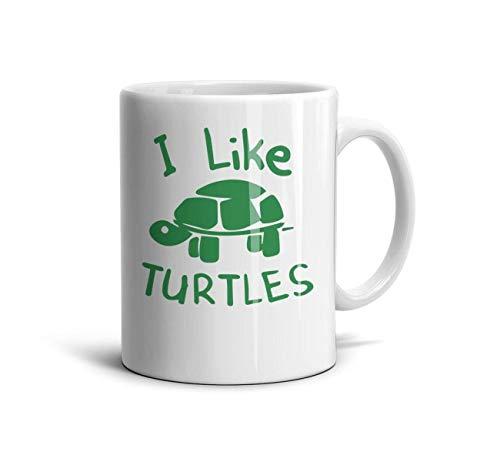 (FSVDA Mugs 11Oz I-Like-Turtles- Daily Drinks Cup)