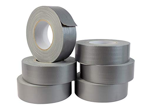 WOD CDT-UG7 Utilty Grade Silver (Gray) Duct Tape - 2 in. x 60 yds. - 24 Rolls Case - Waterproof, UV Resistant For Crafts & Home Improvement (Available in Multiple Sizes & Colors) by WOD Tape (Image #2)