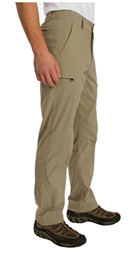 UNIONBAY UB TECH Men's Rainier Travel Chino Active Cargo Pants UPF 50 Water Repellent