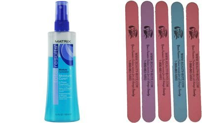 Total Results Moisture Cure 2-phase Treatment Plus Bonus 5 Emery Boards