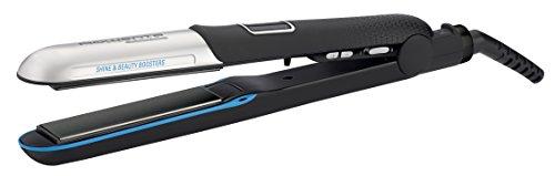 Rowenta SF6220 Haarglätter Liss und Curl Ultimate Shine, LED, schwarz/silber