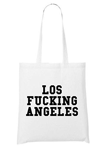 Los Fucking Angeles Bag White
