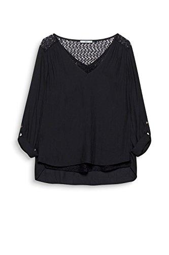 edc Noir Femme Esprit Black Blouse by 001 rqgpOqwZI