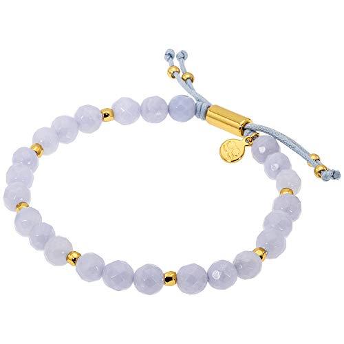 Agate Blue Agate Bracelet - 1