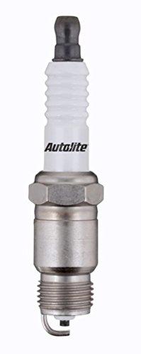 (Set (12pcs) Autolite Copper Core Spark Plugs Resistor Tapered Seat 14mm x 1.25 Thread 24)