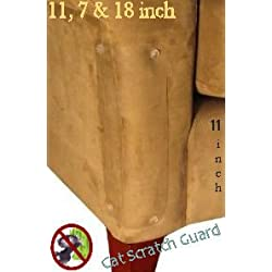 Two 11 x 4 1/2 inch Cat Scratch Guards with Pins ---- THE ORIGINAL CAT SCRATCH GUARD FURNITURE PROTECTOR ---- Love Your Furniture AND Your Cat!