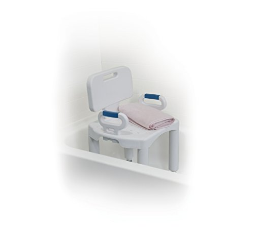 Drive Medical Premium Series Shower Chair with Back and Arms by Drive Medical (Image #8)