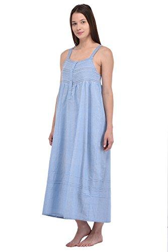 Cotton Lane - Camisón - Sin mangas - para mujer