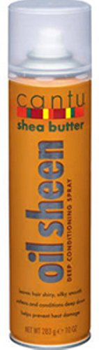 Cantu Oil Sheen Deep Conditioning Spray, 10 oz (Pack of 12)