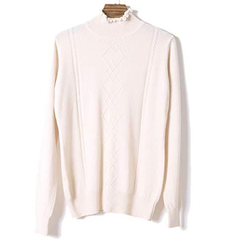 Manica Dissa Maglione Bianco Lunga Donna W7xf8wqY5f