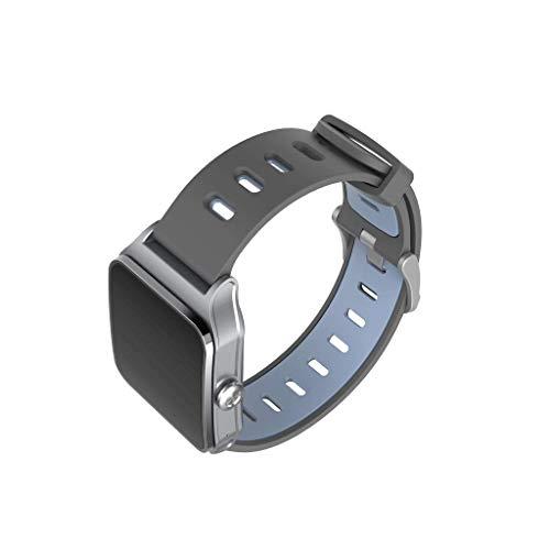 DAYLIN Relojes Inteligentes Deportivos Cuadrados Mujer Hombre Niño Niña Reloj Pulsera Inteligente IP68 con GPS Despertador Cronómetro Monitor de Ritmo ...