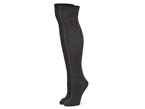 B.ella Bess Slouchy Wool Knee Sock (Gray - Medium)