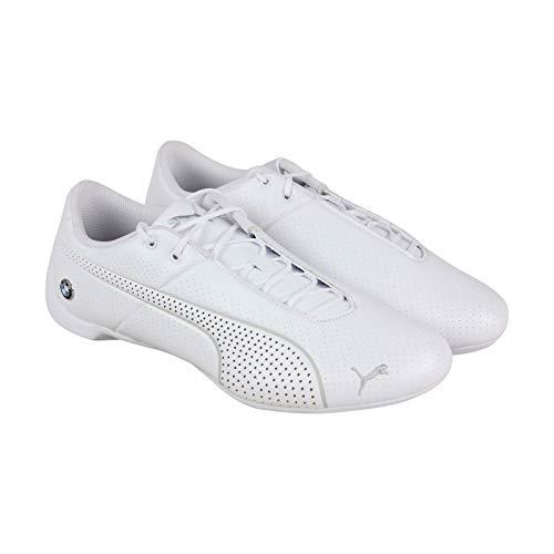 PUMA Men's BMW MMS Future Cat Ultra Sneaker, White Whit, 9.5 M US (Cat Future Casual Puma)
