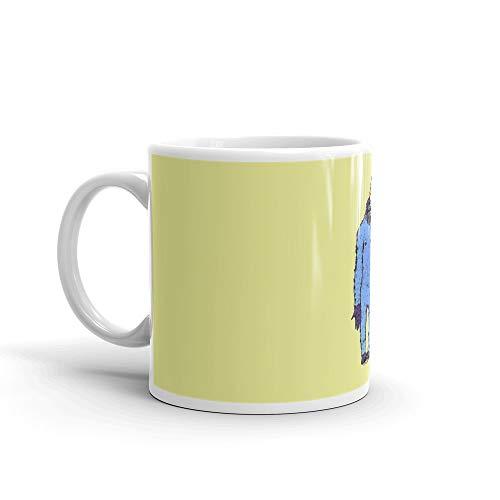Sasquatch, Bigfoot, Unicorn, The Missing Link! Halloween, Fun. Mug 11 Oz White Ceramic