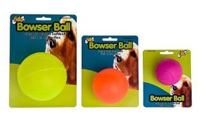 Bowser Ball - Fido Bowser Dog Ball, Vanilla Flavored, Tennis Ball - 2