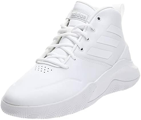 vender proporción Almacén  adidas Own the Game Men's Basketball Shoes, White, 9.5 UK (44 EU): Buy  Online at Best Price in UAE - Amazon.ae