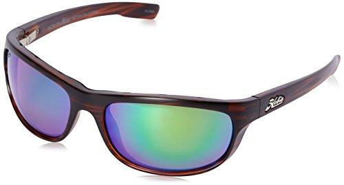Hobie Men's Cruz-191926 Polarized Oval Sunglasses, Satin Brown Wood Grain, 64 mm (Satin Sunglasses Polarized)
