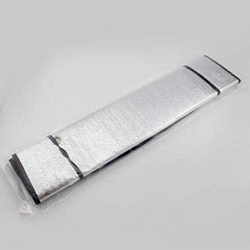 Pare-Soleil Simple Face Pare-Soleil pour Voiture Couverture Pare-Brise pour fen/être en Aluminium Aluminium Pare-Soleil Argent