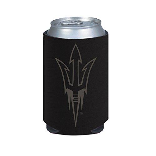 Arizona State Sun Devils ASU 2-Pack BLACK TONAL CAN Koozie Neoprene University