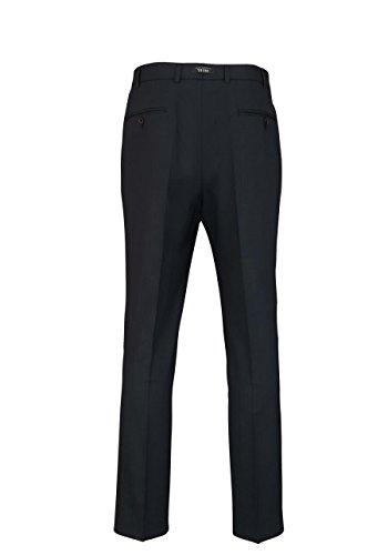 DIGEL Herrenhose PER-V mit Taschen Bügelfalte nachtblau