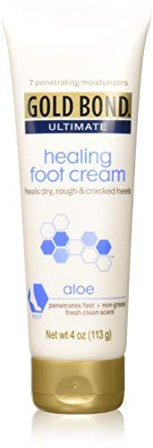 Gold Bond Ultimate Healing Foot Cream 4 oz (Pack of 4)