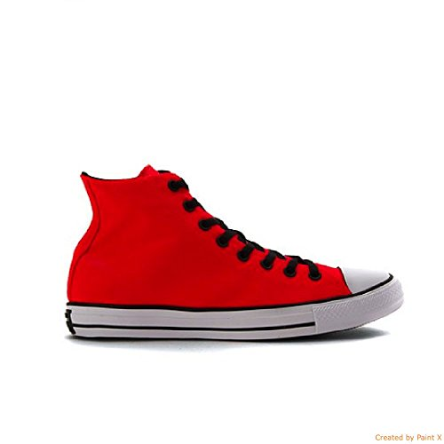 Converse Mens Kastar Taylor All Star Pop Color Hi Ljusa Crimson / Vit / Svart 9 M