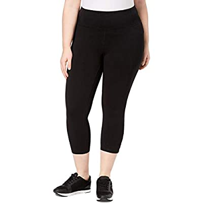 Calvin Klein Performance Womens Plus Fitness Active Athletic Leggings
