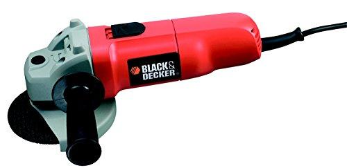 Black + Decker 710 Watt Winkelschleifer, 115mm Scheibendurchmesser, 2-Positionen Zusatzhandgriff, CD115
