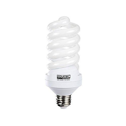Fovitec StudioPRO - 1x 30 واط ضوء لمبة ضوء الفلورسنت - [1 Pack] [30W] [5500K] [CFL] [Full Spectrum]