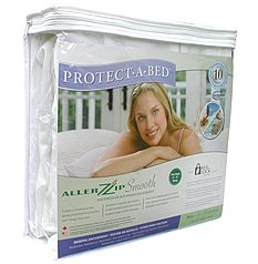 Protect-A-Bed AllerZip Smooth Encasement, Twin (7-12 in. H)
