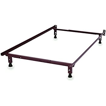 Amazon.com: Metal Bed Frame - Fits Twin and Full (Double) Sizes ...