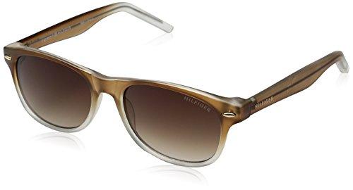 Tommy Hilfiger Un001 66396792 Wayfarer Sunglasses, Brown/Brown Gradient, 53 - Wayfarer Hilfiger Tommy