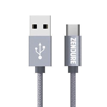 ZENDURE Tipo de Cable C - USB 2.0 de Tipo C de Carga/Sincronización Claro