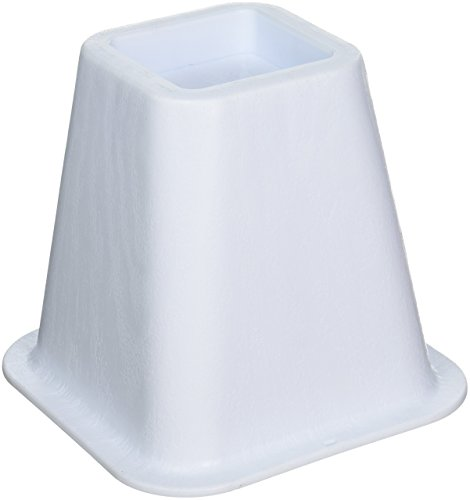 Honey Can Do STO 01876 Risers 4 Pack White
