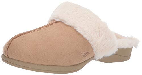 - Powerstep Luxe Women's Orthotic Slippers - Memory Foam Slip-Ons with Arch Support