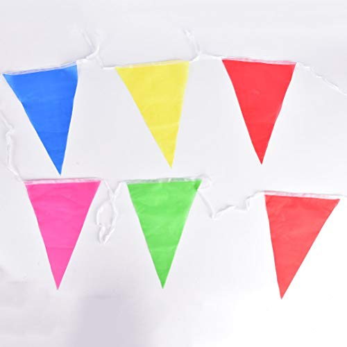 Streamers & Confetti - Arrival 2pcs 8m Pc Bunting Warning Banner Brithday Graduation Party Hang Triangles String Flags - Streamers Banners Streamers Confetti Flag Garland Triangle Paper -