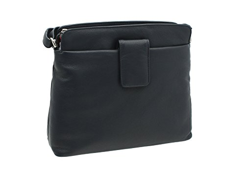 ac Bag Craft Shoulder Ashlie Navy Black Style AC8200 Cognac Leather tPYtgqw