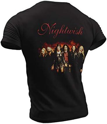 Nightwish 9 unisex damska / damska koszulka T: Odzież
