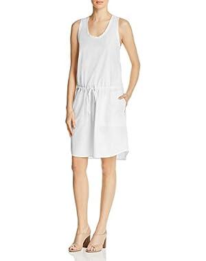 Womens Miigan Dr Sleeveless Drawstring Casual Dress