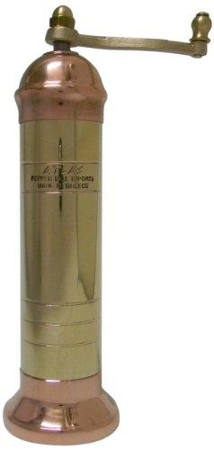 Atlas Moderno Brass/Copper Salt Mill