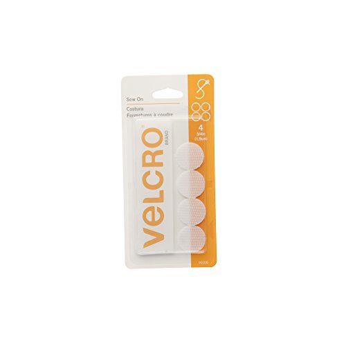 VELCRO Brand Fasteners Coin White