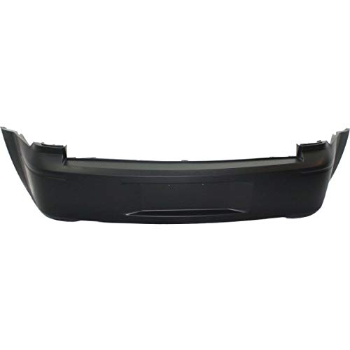 New Rear Bumper Cover For 2005-2007 Dodge Magnum Primed, With Dual Exhaust Holes, Except SRT-8 Model CH1100409 4806143AC