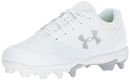 - Under Armour Women's Glyde RM Softball Shoe, White (100)/White, 8.5