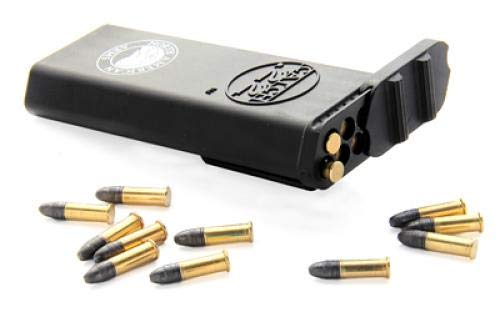 (Catch 22 Ammo Carrier, Belt Clip, Holds 50 Rounds of .22 Long Rifle, 70 Rounds of .22 Short or 30 Rounds of .22 Magnum)
