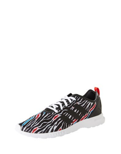 38 White Flux Smooth Print adidas ZX Chaussure Zebra 8Y70Y