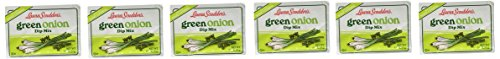 Green Onions - Laura Scudder's Green Onion Dip Mix 6 Pack,.50 oz