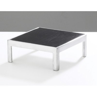 Cal-Mil 1476-10 Bamboo Square/Rectangular Change Up Risers, 10.5'' W x 10.5'' D x 4'' H, Silver by Cal Mil